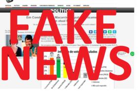 FAKE NEWS: TV Tambaú e Portal T5 NÃO encomendaram pesquisa de intenção de voto no Conde