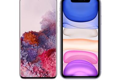 Veja quem leva a melhor em comparação: Galaxy S20 ou iPhone 11?