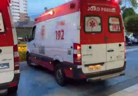 Colisão entre ciclistas deixa mulher gravemente ferida, em João Pessoa