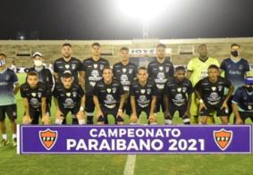 Elenco do Treze em partida do Campeonato Paraibano 2021