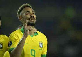Paraibano marca 2 gols contra Argentina e carimba passaporte da seleção para Tóquio