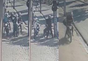 Assaltantes levam R$ 20 mil de empresário em frente à agência bancária em JP