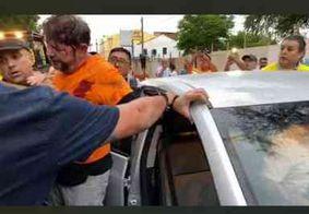 Alcolumbre aciona Sérgio Moro e pede proteção para Cid Gomes após policiais cercarem hospital