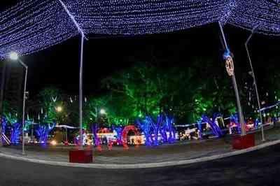 Ruas de Campina Grande recebem iluminação natalina