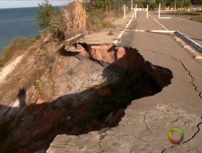 Barreira do Cabo Branco corre riscos mesmo após obras no local