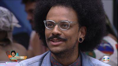 BBB21   João Luiz é eliminado do reality com 58,86%