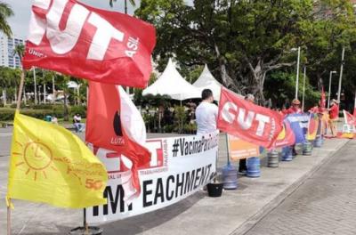 Atos contra Bolsonaro acontecem em 5 cidades da PB neste sábado (24)