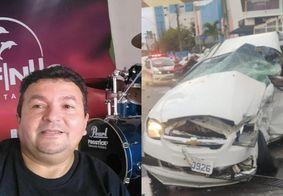 Vítima de colisão entre BMW e Classic em Manaíra era baterista da Banda Tuareg's