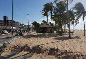Praias de João Pessoa ficam lotadas no feriadão de 12 de outubro