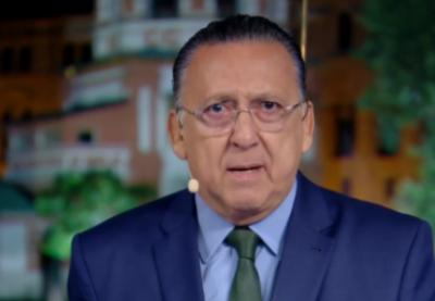 Repórter 'brinca' e Galvão Bueno fica em saia justa durante transmissão ao vivo
