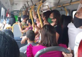 Passageiros denunciam ônibus lotados em João Pessoa