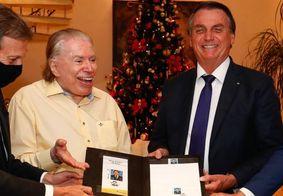 Silvio e Jair Bolsonaro