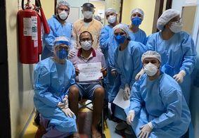Hospital de Trauma de JP registra mais de 100 altas da área Covid-19