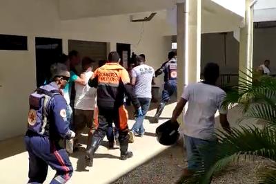 Vídeo: Tumulto deixa feridos em evento para cadastrar comerciantes, em João Pessoa