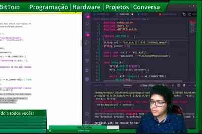 Estudante da UFPB ensina programação e robótica pela internet