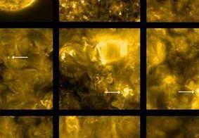 Nasa divulga fotos inéditas de 'fogueiras' do Sol; veja