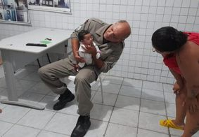 PM salva criança que se engasgou com leite materno em João Pessoa