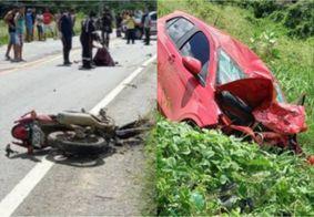 Preso motorista responsável por acidente que matou dois adultos e uma criança na PB