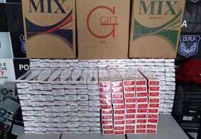 Homem é preso com três mil carteiras de cigarro contrabandeadas em Campina Grande
