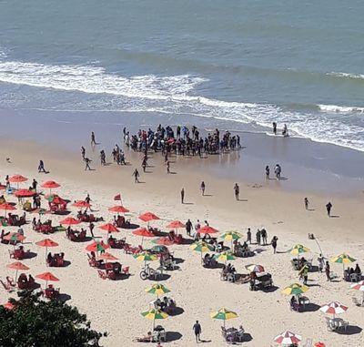 Ataque de tubarão registrado na praia de Piedade