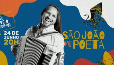 Ao vivo: acompanhe a Live de São João do cantor Dorgival Dantas