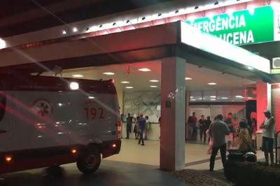 Hospital de Trauma de João Pessoa atende três vítimas de arma branca em plantão de réveillon