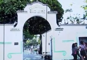Bandidos furtam itens de túmulos no Cemitério São José