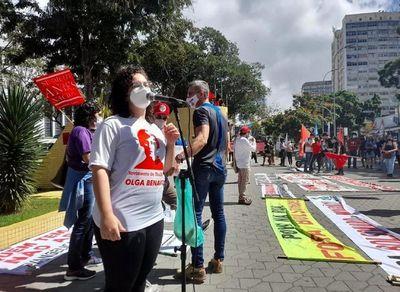 Protestos aconteceram em pelo menos cinco cidades da Paraíba