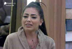 """Jojo escuta desabafo de Mirella sobre Dynho e aconselha: """"Vai pra terapia"""""""