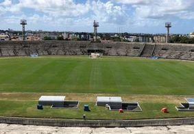 Estádio Alemidão poderá receber 20% de sua capacidade