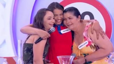Reveja a participação de Thalia, a cantora frentista da PB, no programa Eliana