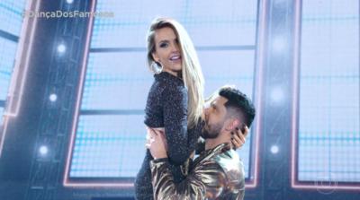 Detalhe chama atenção em apresentação de Mariana Ferrão na Dança dos Famosos; veja