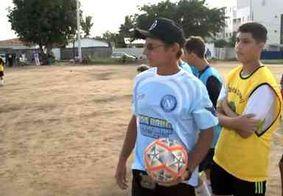 Escolinha de futebol se inspira em time italiano para realizar sonho de jovens em João Pessoa