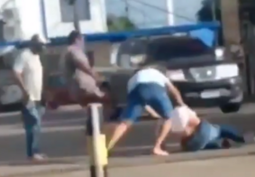 Moradores flagram briga em posto de combustível na Zona Sul de João Pessoa