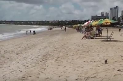 Paraíba tem seis praias impróprias para banho neste fim de semana