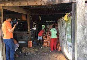 Carga de cerveja roubada avaliada em R$ 90 mil é recuperada, em Cabedelo