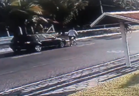 Atropelamento que matou idoso foi flagrado por câmera de segurança; veja
