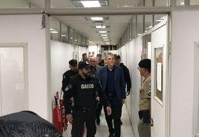 Justiça mantém prisão preventiva e Ricardo Coutinho vai para Penitenciária Média; assista