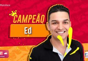 Ed é campeão do 'Jogo de Panelas', do 'Mais Você'