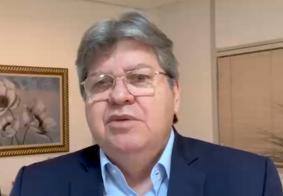"""""""Quinzena mais importante desde o início da pandemia"""", diz João Azevedo sobre retomada"""