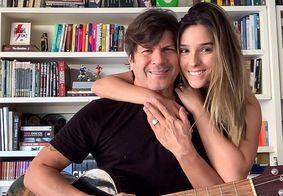 Paulo Ricardo se declara no aniversário da esposa, Isabella Pinheiro
