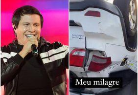 Cantor Giovani, da dupla com Gian, sofre acidente de carro