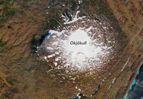 Cientistas realizarão 'funeral' da primeira geleira islandesa morta por conta do clima