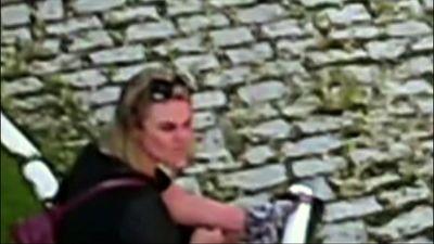 Vídeo: ex-paquita que acusou marido de agressão pode ter se automutilado