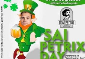 """""""Sai Petrix Day"""": bar cria promoção para quem torce pela saída do ginasta do BBB20"""