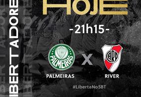 TV Tambaú transmite Palmeiras x River Plate
