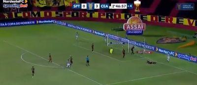 Jogando na Ilha do Retiro, Ceará goleia o Sport por 4 a 0