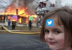 """Queda do Whatsapp, Instagram e Facebook geram memes no Twitter: """"Indestrutível"""""""