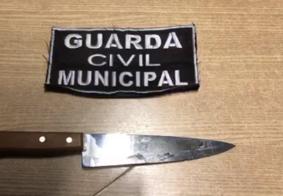 Assaltante é baleado ao tentar dar facada em Guarda Municipal, em João Pessoa