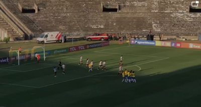 Brasil e Argentina: web critica conservação de estádio durante amistoso na PB